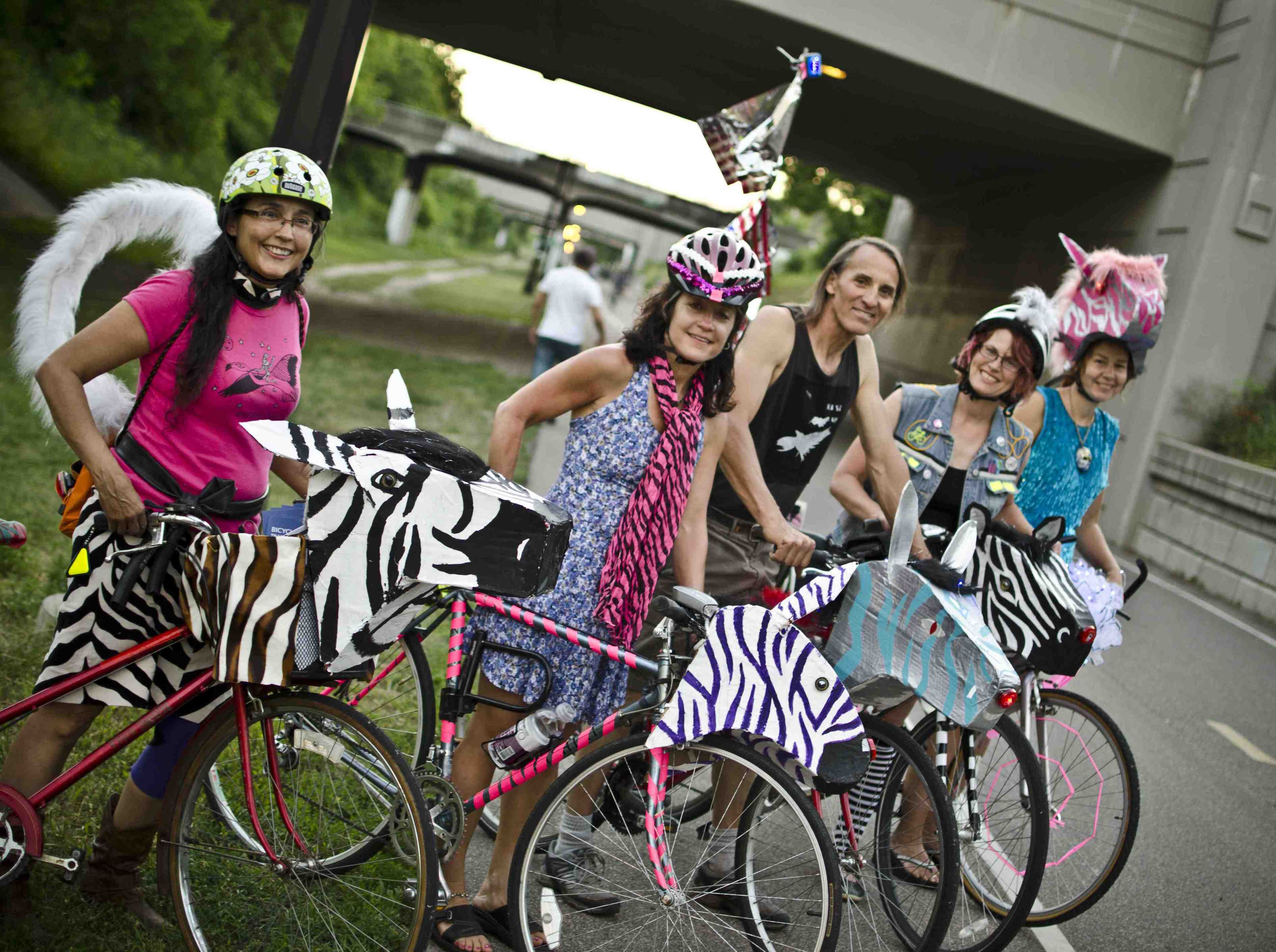 The sixth-annual Greenway Glow is set for July 29. Photo by Erik Blume