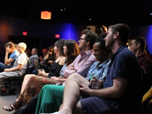 "Audience members enjoy the June taping of ""Minnesota Tonight."" Photos by Nate Gotlieb"