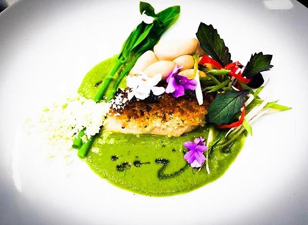 Loews Minneapolis Hotel - Cosmos - Chef's Table - Executive Chef Timothy Fischer-12 - Minnesota Walleye