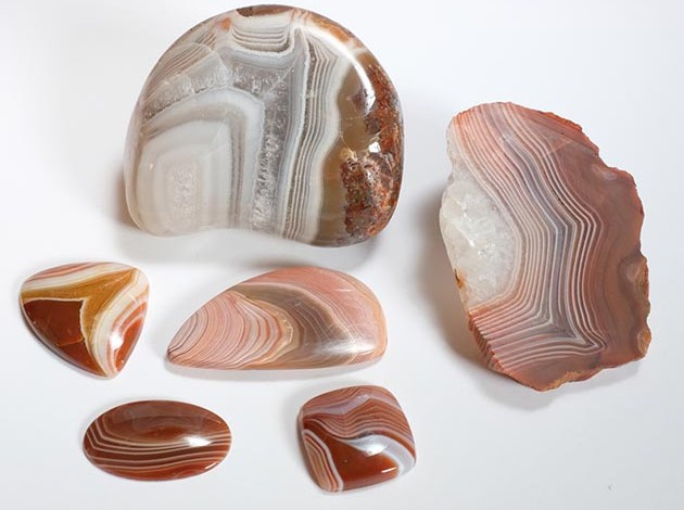 TOURIST Lake Superior Agates--polished