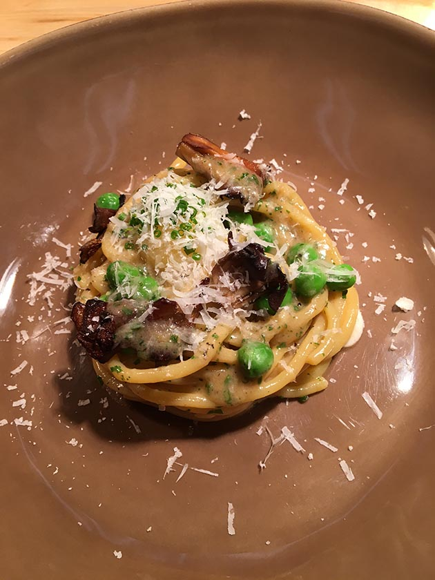 Bigoli and braised lamb shoulder is currently on the ever-changing menu at Tenant. Submitted photos