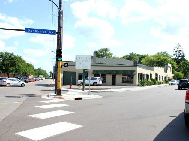 A developer is proposing a luxury apartment building at the Edina Cleaners site on France Avenue.