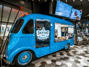 Salty Tart Bakery is one of a few Minneapolis restaurants to open in Food Truck Alley, a new group of eateries in Concourse E at the Minneapolis-St. Paul International Airport. Submitted photo