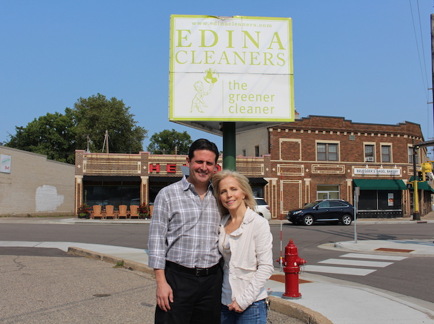 Jim Fingerman and Elizabeth Williams  have taken over ownership of Edina Cleaners at 4500 France Ave. S. Photo by Nate Gotlieb