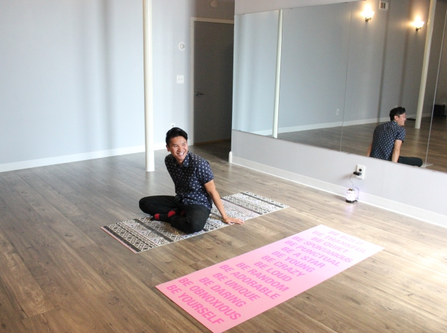 Phong Cao owns Greenway Yoga, offering low-cost and charity-driven classes.