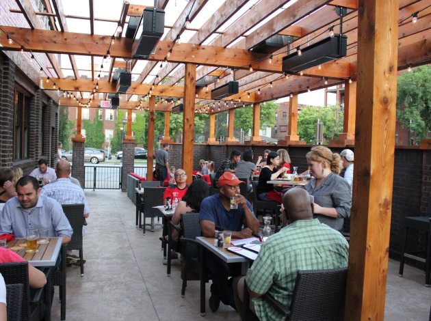 Red Cow Uptown features a 32-seat bar and 1,000-square-foot patio.