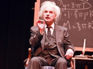"Thomas Schuch performs ""Einstein: A Stage Portrait"" Sept. 8-Oct. 1 at The Matchbox Theater, now open in a new Tangletown space. Submitted photo"
