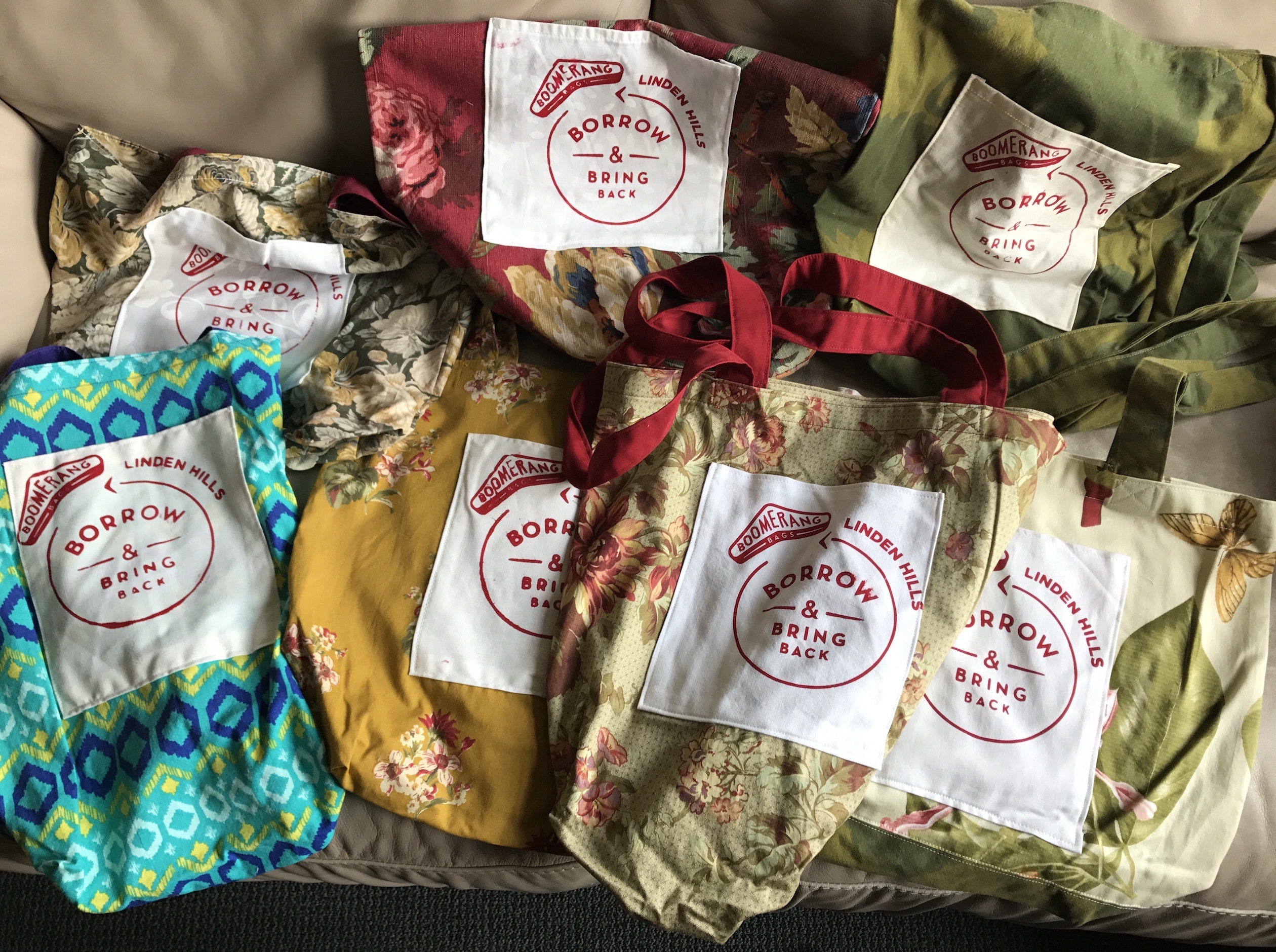 The founder of Minneapolis' Boomerang Bag program is looking to expand it to neighborhoods beyond Linden Hills. Submitted photo