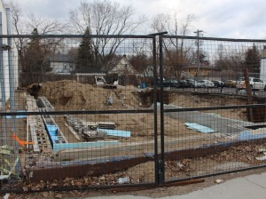A view of the former Beek's Pizza site at 53rd & Lyndale from earlier this year.