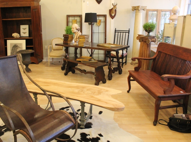 A peek inside Loft Antiques' expansion, which opens later this month.