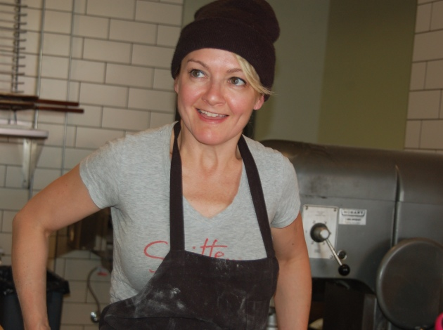 Kristy Dirk, owner of the forthcoming Lucky Oven Bakery, made 275 desserts last weekend in a fundraiser for North Minneapolis-based Cookie Cart. Submitted photo