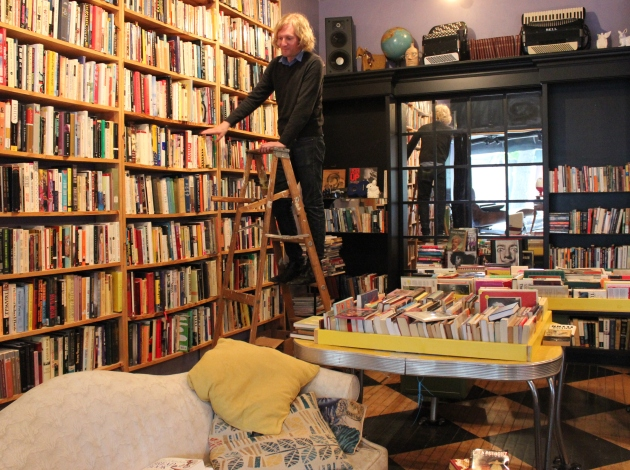 Nathan Simar promises that book lovers will find titles they like at Nat's Uptown Books.