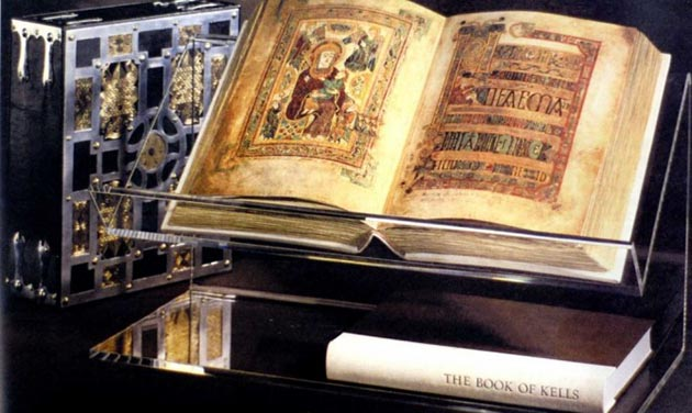 The Book of Kells. Submitted image