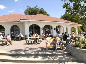 The refectory at Lake Calhoun, or Bde Maka Ska. Photo courtesy of the Minneapolis Park & Recreation Board