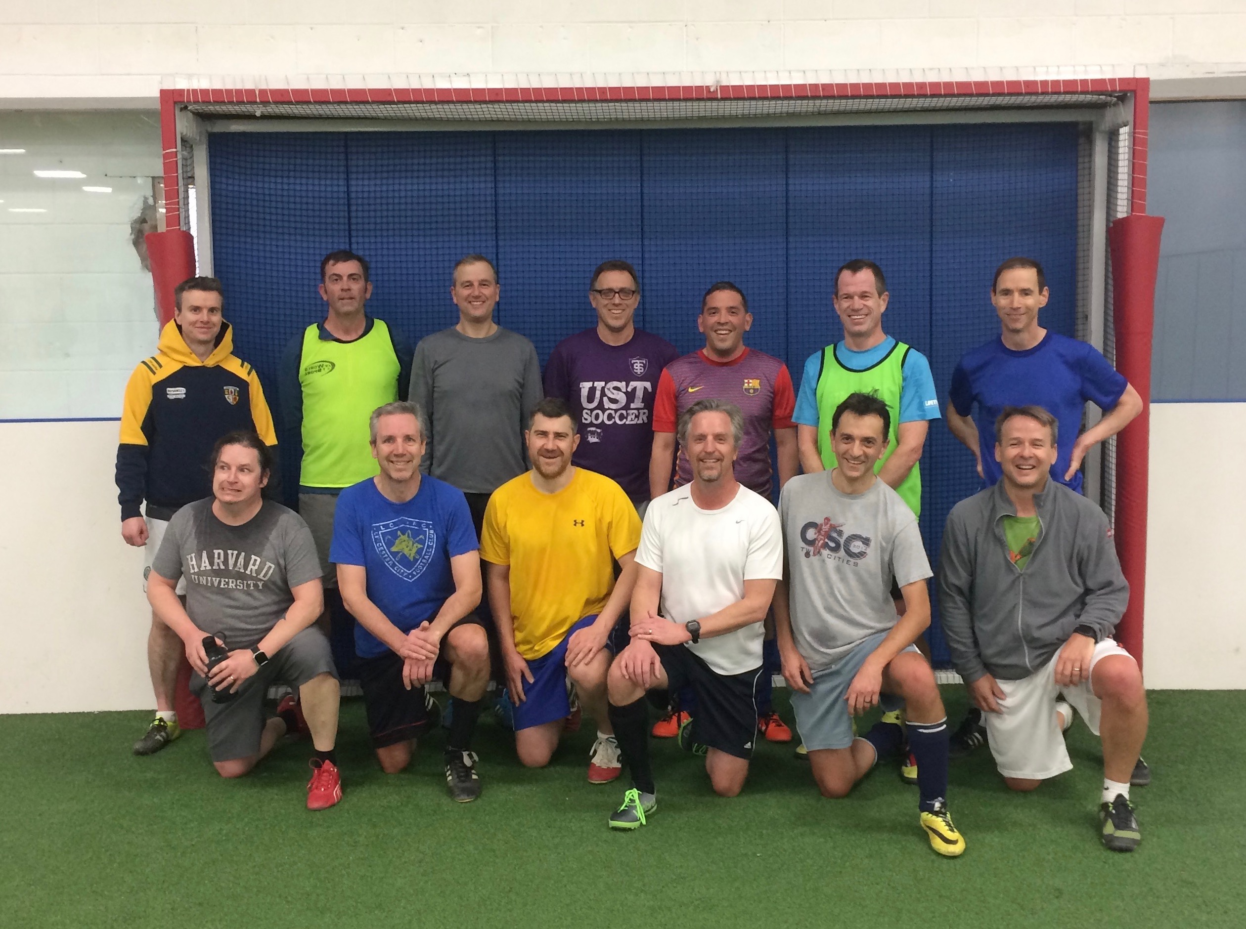 Morningside Athletic Club members after a pickup soccer game. Photo courtesy Ed Mathie