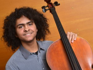 Sixteen-year-old cellist Nygel Witherspoon,  a Minneapolis resident, was featured as a soloist with the Minnesota Orchestra in October.