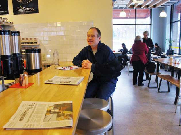 Butter Bakery Cafe owner Daniel Swenson-Klatt. File photo