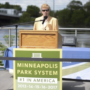 Superintendent Jayne Miller. Photo courtesy of the Minneapolis Park and Recreation Board