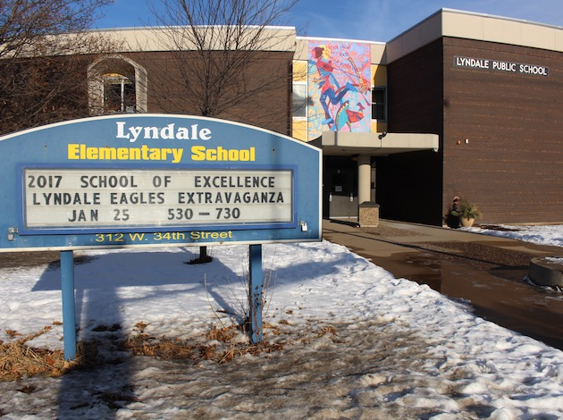 Lyndale parents rallied this winter to preserve two bus routes to the school.