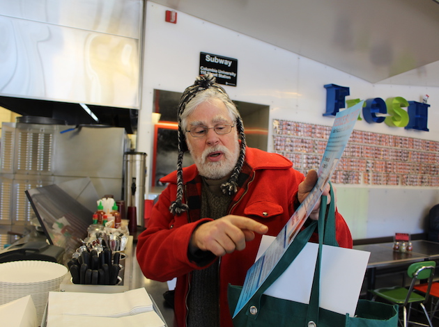 Lowry Hill East resident Joe Knaeble is leading an effort to educate businesses in Southwest Minneapolis on road salt.