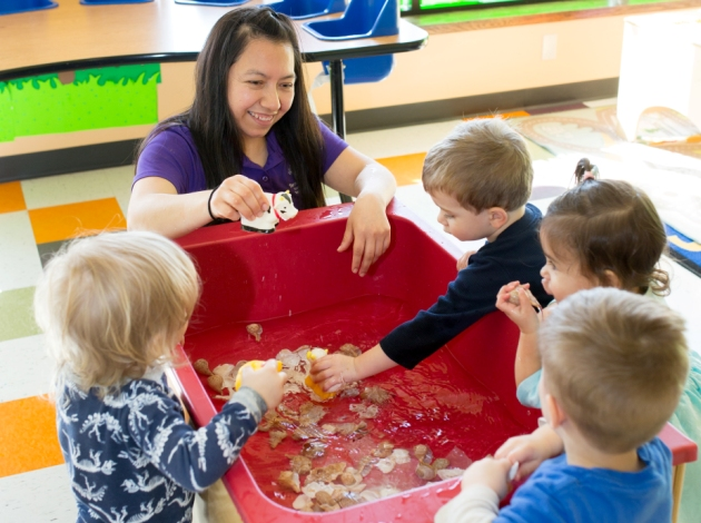 The Spanish-immersion daycare Tierra Encantada opens in June at 5750 Wentworth Ave. S. Submitted photo