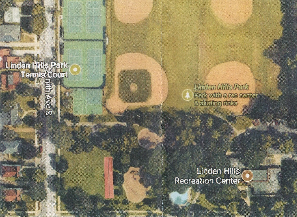 The Linden Hills Bocce Club is proposing a bocce ball court near the neighborhood's recreation center. Submitted image