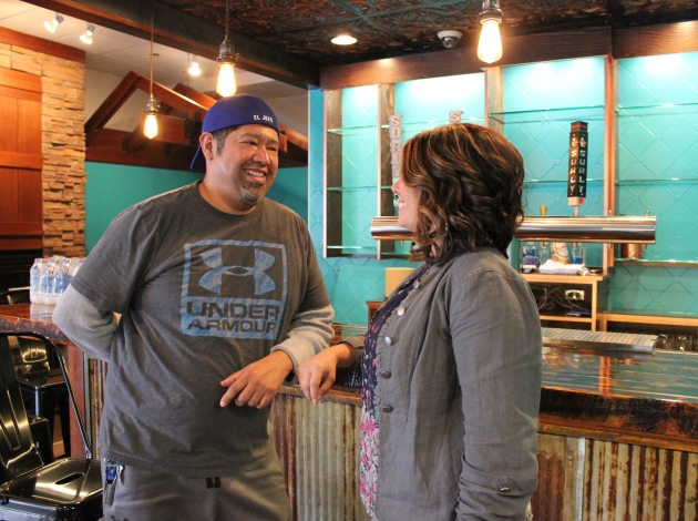 Miguel and Rojin Urrutia aim to open El Jefe Cocina & Bar on May 1.