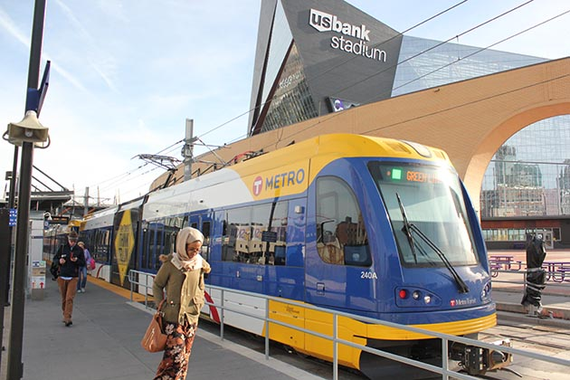 The $1.9 billion Southwest Light Rail Transit project would extend the METRO Green Line 14.5 miles to Eden Prairie. File photo