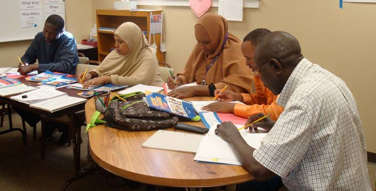 Learning In Style at 2200 Nicollet Ave. teaches English to more than 350 immigrants per year. Photo courtesy of Learning In Style