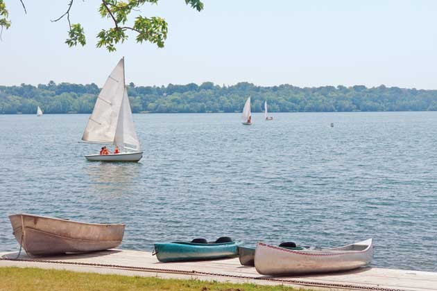 "Sailboats on Lake Harriet, a past winner in the ""best lake"" category of the annual Best of Southwest contest. File photo"