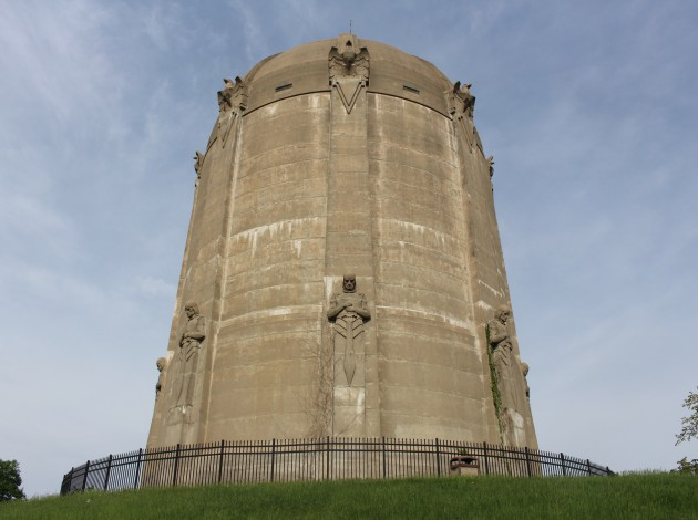 The Washburn Park Water Tower