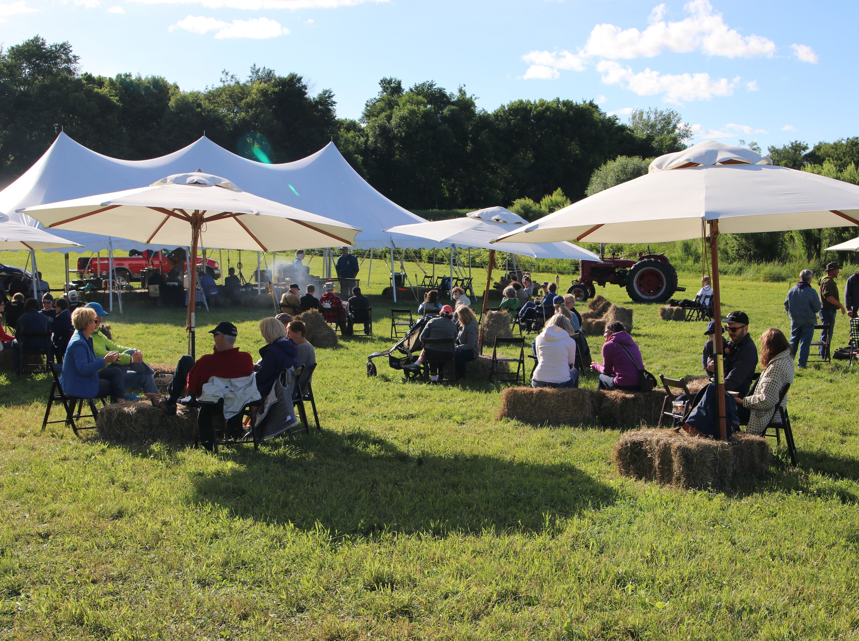 Tangletown Gardens' annual Friends and Family Day event includes hayrides, picnic lunches and more. Photo courtesy Tangletown Gardens