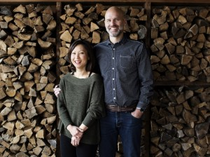 Co-founders Conrad Leifur and Ann Kim. Photo courtesy of Eliesa Johnson of The Restaurant Project