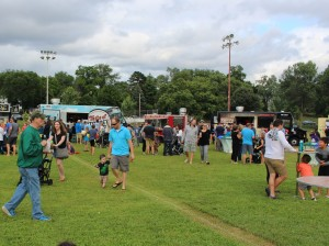 Food trucks were part of the fun Thursday at the annual Hale-Page-Diamond Lake Community Association Picnic in the Park.
