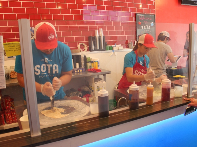 Sota Hot and Cold opened in June in the former Phenom storefront.