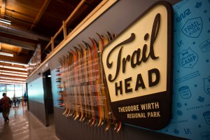The Park Board and the Loppet Foundation celebrated the historic opening of The Trailhead building in Theodore Wirth Park on July 17. Photos courtesy Minneapolis Park and Recreation Board