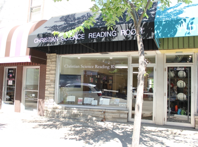 The reading room moved to 50th & France after a long run at 43rd & Upton.