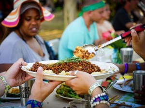 Eat for Equity will cater a menu that includes barbeque black eyed peas and parmesan grits. Photo by Jesse Eustis