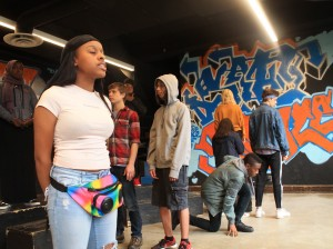 Students in Washburn High School's black box theater classes create and perform original plays, poems and other theater works. Submitted photo