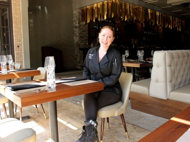 """We don't cut corners,"" says Ashii Vrohidis, owner of Moderna Kouzina."