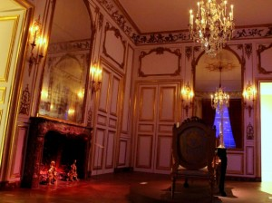 The Grand Salon is one of several period rooms with a ghost story at Mia.