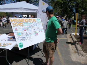 Residents submitted comments on Minneapolis 2040, the city's decennial plan for population growth, during a community gathering in Linden Hills this summer.