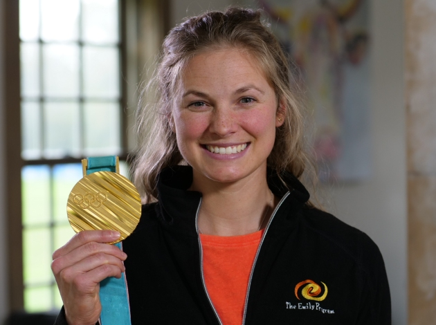 Olympian Jessie Diggins will speak this week at The Emily Program, which is opening a new supportive housing facility in Linden Hills. Photo courtesy of The Emily Program