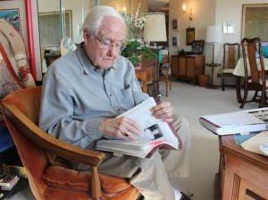 Retired Star Tribune reporter Rodgers Adams writes an independent newsletter for residents of his condo building in Cedar-Isles-Dean.