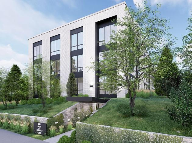 Thirty-six apartments will stand on the site of a single-family home, three detached parking garages and a vacant property formerly owned by writer Brenda Ueland.