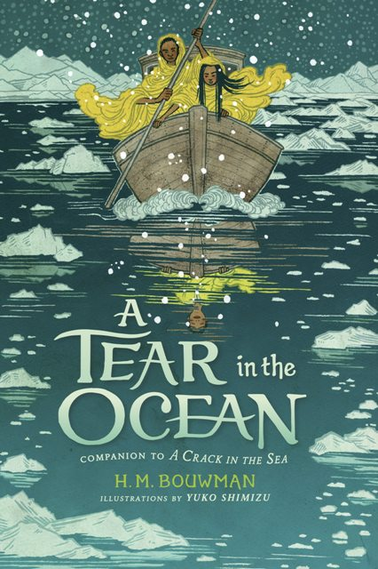 Book cover - A Tear in the Ocean