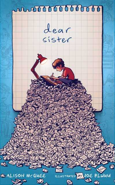 Book cover - Dear sister