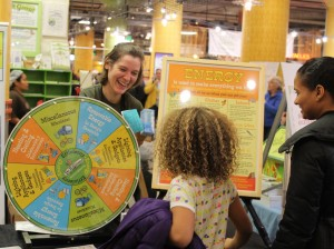 Do It Green! Minnesota's upcoming Green Gifts Fair will feature demonstrations and educational activities on topics such as recycling and energy conservation. Photo courtesy Do It Green! Minnesota