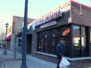 The Social House Restaurant & Lounge serves East African food on Franklin.