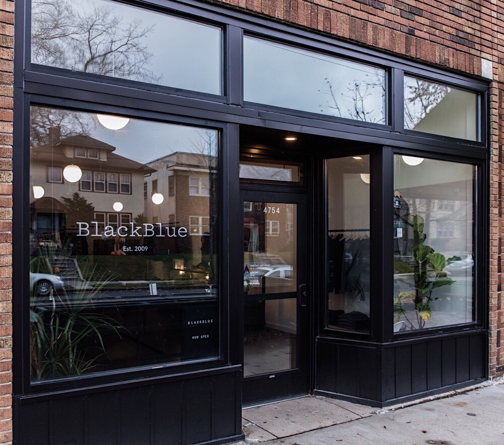 The exterior of BlackBlue's first Minneapolis location in Tangletown. Submitted photo.